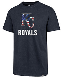 '47 Brand Men's Kansas City Royals Spangled Banner Club T-Shirt