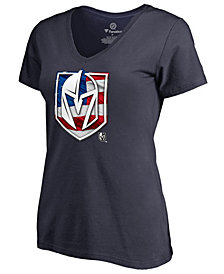 Majestic Women's Vegas Golden Knights Banner Wave T-Shirt