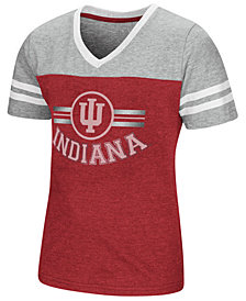 Colosseum Indiana Hoosiers Pee Wee T-Shirt, Girls (4-16)