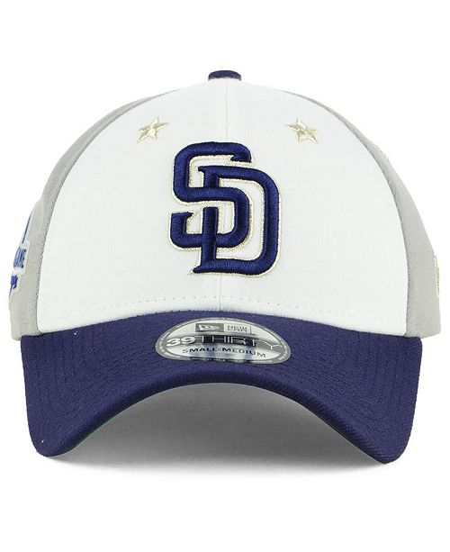 cec41e7307204 ... new zealand sale san diego padres all star game 39thirty stretch fitted  cap 2018. be