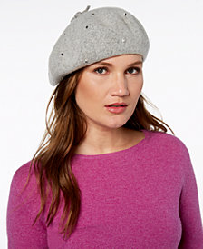 kate spade new york Bedazzled Felt Beret