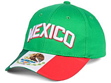 Icon Sports Group Mexico National Team Strapback Cap
