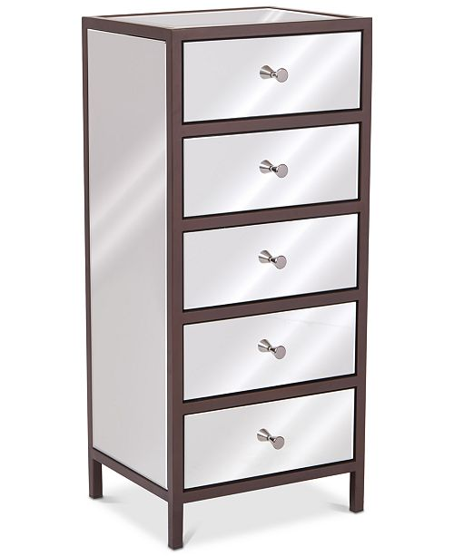 Furniture Iven 5-Drawer Cabinet, Quick Ship