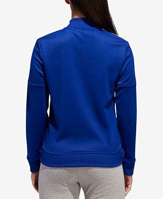 Adidas Tricot Snap Track Jacket Jackets Women Macy S