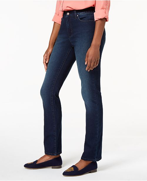 2fe67d391db Charter Club Lexington Straight-Leg Jeans
