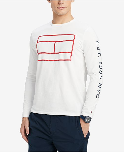 8d041d5a ... Tommy Hilfiger Men's Hyde Graphic T-Shirt, Created for Macy's ...