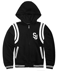 Sean John Big Boys Varsity Hooded Jacket