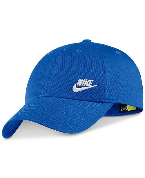 Nike Sportswear Cotton Heritage 86 Futura Cap - Women s Brands ... 4c22fdb47b0