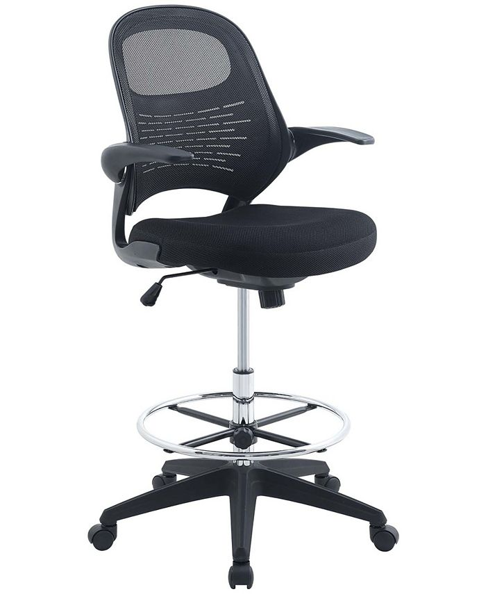 Modway - Advance Drafting Chair in Black