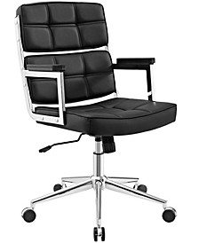 Portray Highback Upholstered Vinyl Office Chair