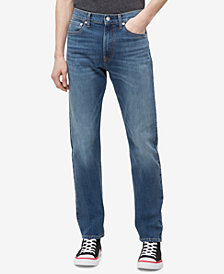Calvin Klein Jeans Men's B&T Straight-Fit Jeans
