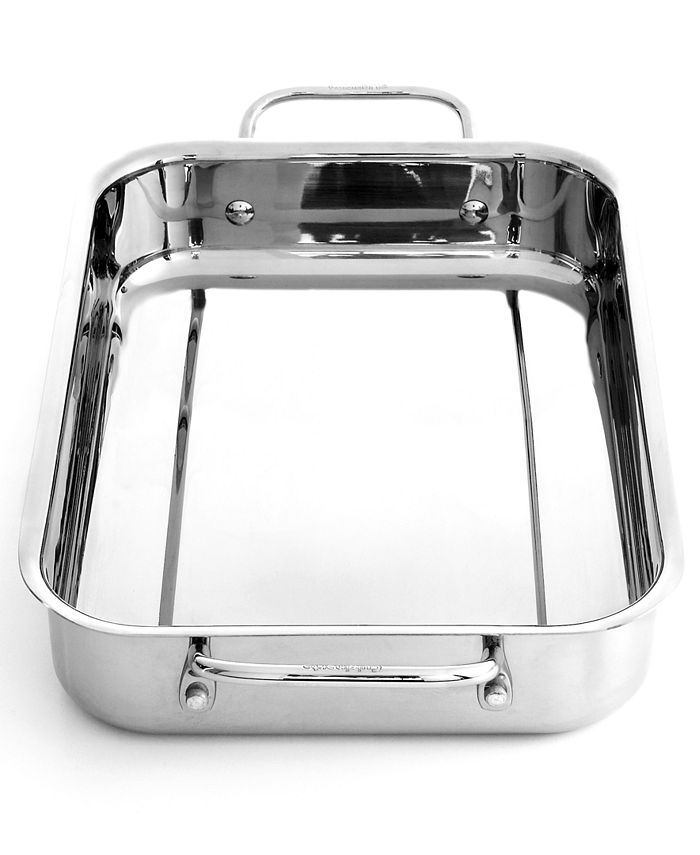 """Cuisinart - Lasagna Pan, 13.5"""" Chef's Classic Stainless Steel"""
