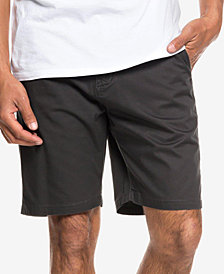 Quiksilver Men's Minor Classic-Fit Twill Chino Shorts