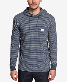 Quiksilver Men's Zermet Stripe Hooded T-Shirt