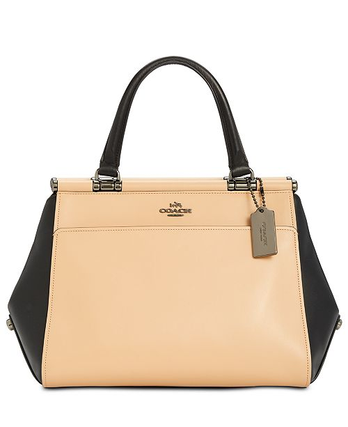 ac98f50fb39024 COACH Grace Colorblock Bag in Smooth Leather & Reviews - Handbags ...