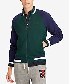 Polo Ralph Lauren Men's Big & Tall Cotton Bomber Jacket
