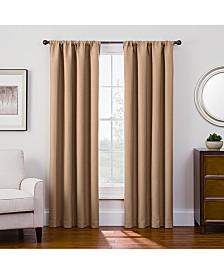 "Keeco Antique Satin 52"" x 84"" Room-Darkening Rod Pocket Window Panel"