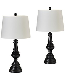 JLA Set of 2 Cape Table Lamps