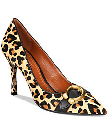 COACH Waverly Natural Pumps