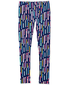 Carter's Little Girls & Big Girls Pencil-Print Leggings