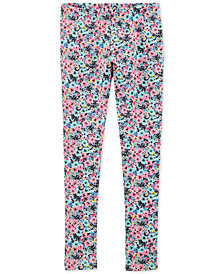 Carter's Little & Big Girls Floral-Print Leggings