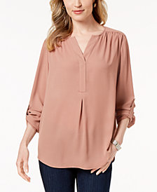 Charter Club Petite Utility Top, Created for Macy's