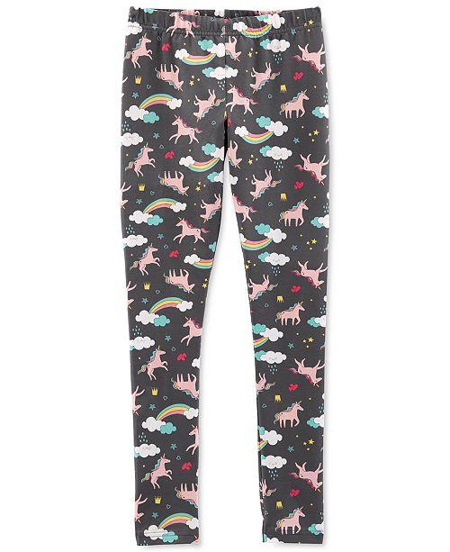 20145444e3c10 Carter's Little & Big Girls Unicorn-Print Leggings & Reviews - Leggings ...