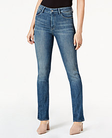 M1858 Marly High-Rise Mini Bootcut Jeans, Created for Macy's