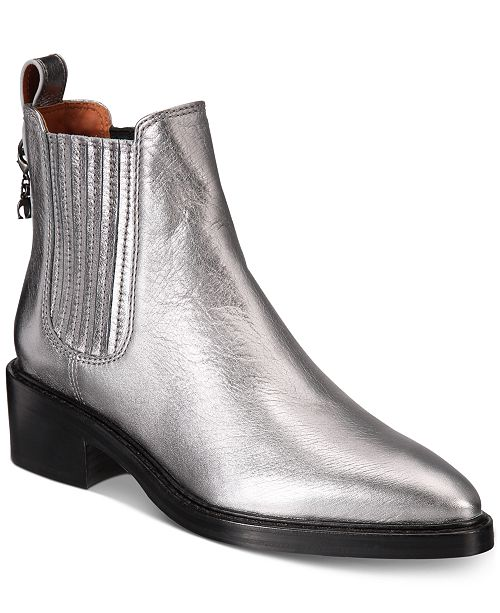 adaca9277 COACH Bowery Chelsea Ankle Booties & Reviews - Boots - Shoes ...