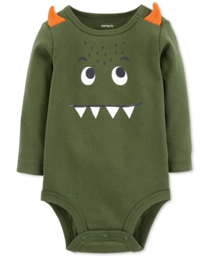 Carters Baby Boys MonsterPrint Cotton Bodysuit