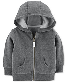 Carter's Baby Boy Full-Zip Hooded Sweatshirt
