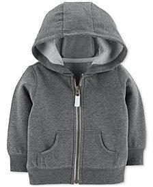 Carter's Baby Boy Full-Zip Hooded Sweatshirt