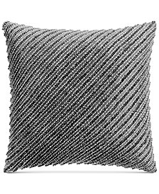 "Hotel Collection Marble Geo 18"" Square Decorative Pillow, Created for Macy's"