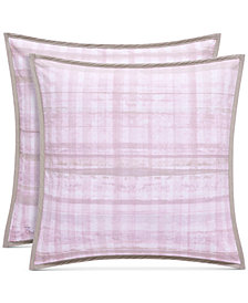 "Oscar|Oliver Serena Cotton Pink 20"" X 20"" Decorative Pillow"