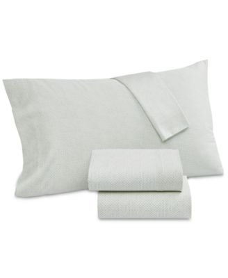 Floral Batik Cotton 230-Thread Count 3-Pc. Twin Sheet Set, Created for Macy's