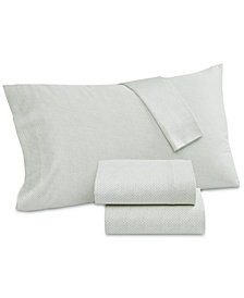 Lucky Brand Floral Batik Cotton 230-Thread Count Set of 2 King Pillowcases, Created for Macy's