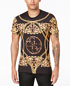 GUESS Men's Baroque Graphic T-Shirt