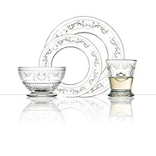 La Rochère Versailles 24 Piece Glass Dinner Set