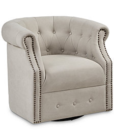 Owen Swivel Chair, Quick Ship