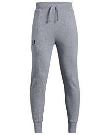 Under Armour Big Boys Rival Blocked Jogger Pants