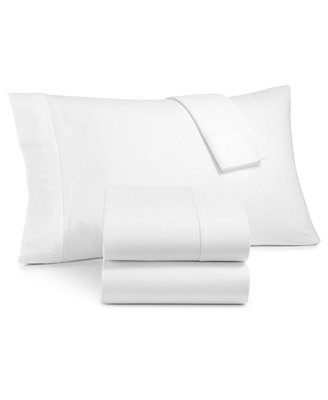 Luxury 100 Percents Cotton Flannel 4 Pc. Queen Sheet Set, Created For Macy's by Martha Stewart Collection