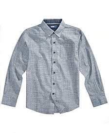 Univibe Big Boys Chambray Cotton Shirt