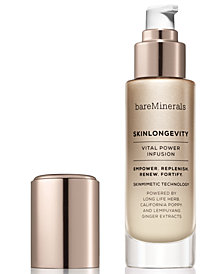 bareMinerals Skinlongevity Vital Power Infusion Serum, 3.4-oz.