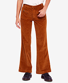 Free People Hip Hugging Flared Corduroy Pants
