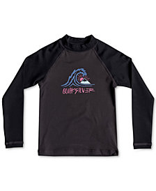 Quiksilver Little Boys All Time Graphic-Print Rash Guard