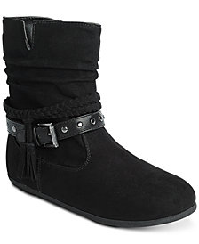 Rampage Little & Big Girls Tassel Ankle Boots