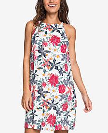 Roxy Juniors' City Shield Sleeveless Printed Dress