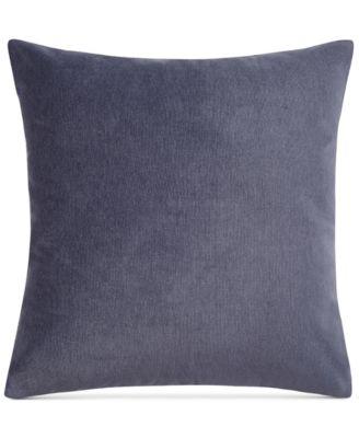 "Heathered Velvet 18"" Square Decorative Pillow"