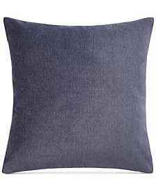"Keeco Heathered Velvet 18"" Square Decorative Pillow"