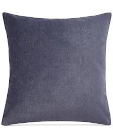 "Keeco Heathered Velvet 18"" Square Decorative Pillow"